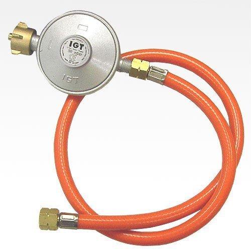 gas niederdruckregler 50mbar gasschlauch neu - Gas Niederdruckregler 50mbar + Gasschlauch Neu
